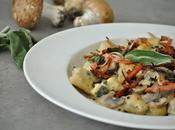 C'est l'automne Gnocchis champignons, sauge bacon croustillant