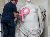 Reportage photo Lancement mois Octobre Rose place Berland pour sensibilisation dépistage cancer sein