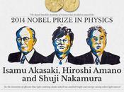 inventeurs récompensés prix Nobel 2014 physique