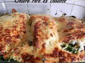 Filets Cabillaud Epinards, sauce Muscat