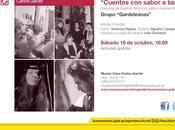 nouveau spectacle cycle narratif Museo Casa Carlos Gardel l'affiche]