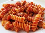 Fusilli sauce tomate champignons
