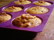 Muffins rustique noix, raisin farine complet