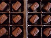 Chocolats fins ganache chocolat noir basilic