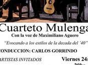 Viernes Tango avec Mulenga Palacio Carlos Gardel l'affiche]
