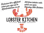 Lobster Kitchen -50% pendant mois automne 2014