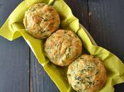 Muffins cantal entre-deux, blettes pommes