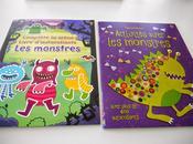 Halloween dessine, colle, colorie! Activités avec monstres Complète scène