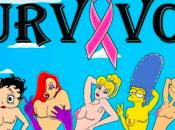 Octobre rose, héroïnes dessins animés autres histoires moustache