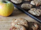 Cookies bretons sarrasin, caramel pomme