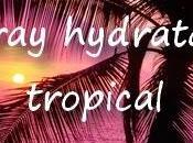 Spray hydratant tropical
