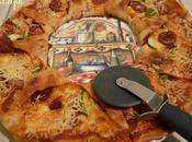 Pizza soleil chorizo