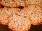 Cookies noix (cerneaux) chocolat noir