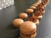 Macarons chocolat lait