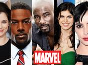 Marvel's Jessica Jones Luke Cage actrices acteurs possibles pour rôles principaux