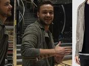 STYLE Liam Payne wearing SAINTS jacket 'DWTS' finale rehearsals