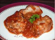 Filet mignon porc tomates paprika