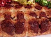 Muffin géant yaourts grecque, vanille boules pralinées