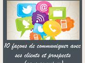 façons communiquer avec clients prospects sans ruiner