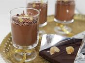 Verrine chocolat, coco gingembre confit