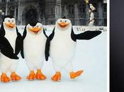 Pingouins Madagascar prennent d'assaut l'Hôtel Ville Paris