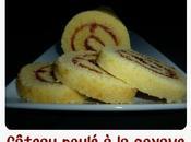 Gâteau roulé goyave