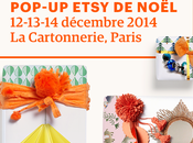 Pop-Up shop Etsy noël démarre vendredi!