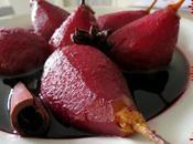 Poires rouge épices