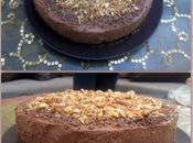 Gâteau mousse chocolat sans gluten.