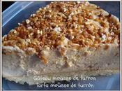 Gâteau mousse turron (Thermomix non) Tarta turrón sin)