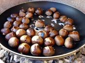 Marrons grillés barbecue