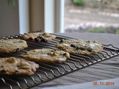 Cookies chocolat blanc&griottes acidulées