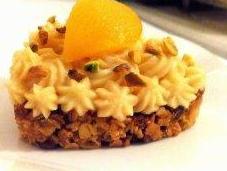 barre céréalière abricots-pistaches façon tartelette
