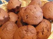 Muffins cacao amer Ronde interblogs Noël