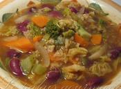 Soupe légumes dinde