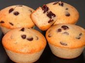 Muffins poires pépites chocolat (sans oeuf sans ajoutée)