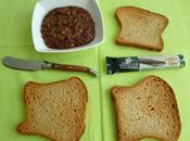 tartinade diététique chocolat crunchy graines lin, soufflé avec stévia seulement kcal (sans sucre)