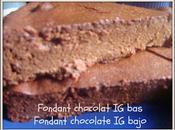 Fondant chocolat (PL) chocolate Bajo