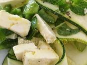 salade courgettes menthe piment