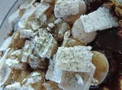 Coquilles saint-Jacques coques parmesan sauce soja huile d'olive