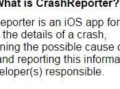 Crash Reporter: l'application pour analyser problèmes iPhone jailbreaké
