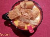 Soupe poivron rouge maïs (Thermomix)