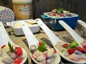 """Salade haricots rouges pour défi cuisine avec Mayonnaise Lesieur façon"""""""