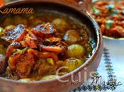 Tajine oignons tomate sucrés Kamama