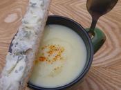 Velouté pommes terre poireaux Fourme d'Ambert