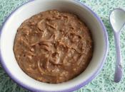porridge diététique hyperprotéiné érable chocolat noisette flocons d'avoine (seulement kcal)