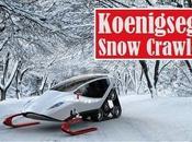 Snow Crawler, traîneau futuriste (vidéo)