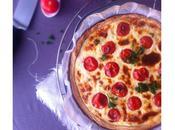 Quiche thon, tomate cerise & mascarpone