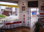 Fêter anniversaires pizzeria coin: forme opposée migration