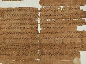 ancien charme écrit grec citant Bible trouvé dans bibliothèque